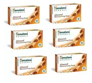 Himalaya Herbals Almond and Rose , 125g (Pack of 6)