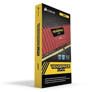 Corsair 8GB (1 x 8 GB) DDR4 Vengeance LPX 2400Mhz C16 Red Kit for X99 Chipset (CMK8GX4M1A2400C16R) Rs 2949 only amazon