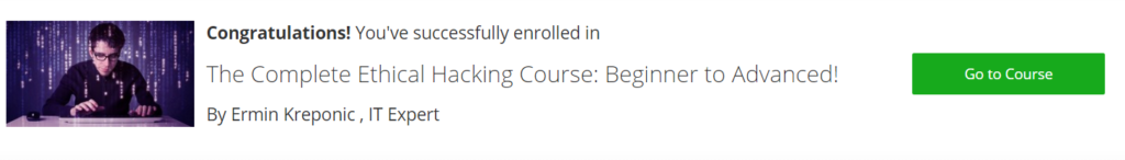 16 april udemy offer enroll to top paid courses absolutely free 7 hurray you have successfully enrolled to the course fandeluxe Choice Image