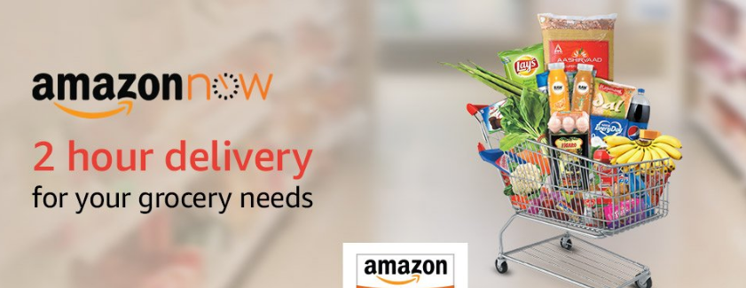 Amazon now grocery offer