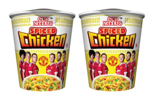 Cup Noodles Spiced Chicken, 140g (Pack of 2) at Rs.40