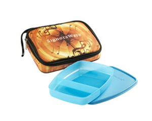 Signoraware Melody Big Slim Lunch Box with Bag, Blue at Rs.142