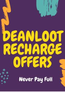 Deanloot Recharge offers