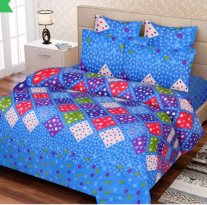 IWS Cotton Printed Double Bedsheets