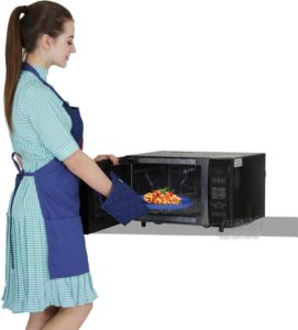 LG 28 L Convection Microwave Oven (MC2844EB, Black) at Rs 7399 only flipkart