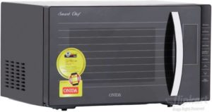 Onida 23 L Convection Microwave Oven (Smart Chef MO23CWS11S, Black) at Rs 8499 only flipkart