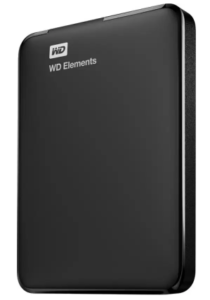 WD Elements 2.5 inch 2 TB External Hard Drive (Black) at Rs.5,599