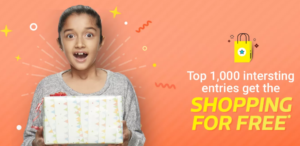 flipkart submit a creative wish and win free shopping