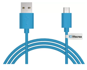 iVoltaa iVFK Sync & Charge Cable (Blue) at rs.40