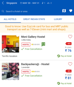 Makemytrip international hotel coupons