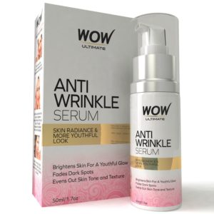 Amazon- Buy WOW Ultimate Anti Wrinkle Serum for Rs 499