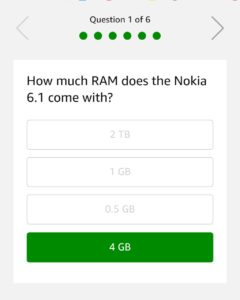 29 May Nokia 6 Quiz Answers