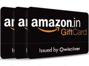 Amazon- Get 10% Cashback on First purchase of Amazon Gift Card