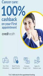 Paytm Cancer Care- 100 Cashback On First Appointment