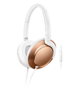 Philips SHL4805RG/00 Headphones (Rose Gold) at Rs.1,199