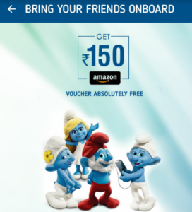 crownit refer 3 friends and get Rs 150 amazon voucher