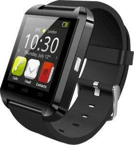 Bluetooth and Fitness Tracker Black Smartwatch