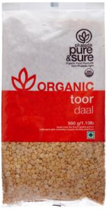 Amazon- Buy Pure & Sure Organic Toor Dal