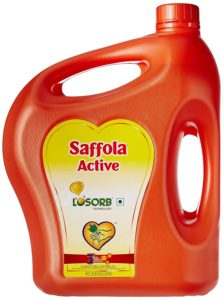 Amazon- Buy Saffola Active Edible Oil – 5 lit Jar at Rs 549