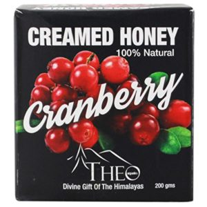 Amazon- Buy Theo Organics Cranberry Creamed Honey, 200g at Rs 263