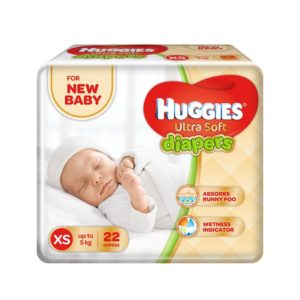 Amazon Super Value Day Crazy Deal Huggies Ultra Soft for New Baby XS Size Diapers (22 Count) 99 loot deal steal deal crazy deal