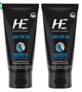 HE On The Go Face Wash (100 g)