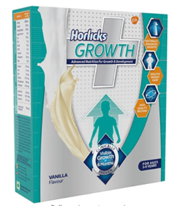Horlicks Growth Plus - 200 g (Vanilla) at rs.210