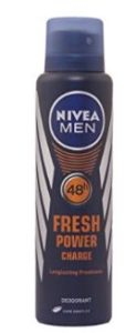 Nivea Fresh Power Charge Deodorant, 150ml
