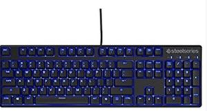 SteelSeries Apex M500, Gaming Keyboard, Mechanical, Cherry MX Red, Blue Backlit, (PC / Mac) - UK Layout