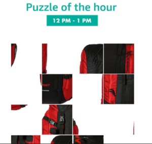 amazon app guess the jigsaw puzzle and win products for free