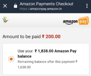 amazon pay haptik 15 cashback recharges