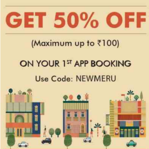 meru 1st app booking