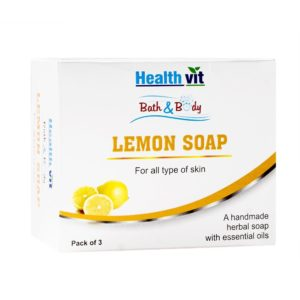 Amazon- Buy Healthvit Bath & Body Lemon