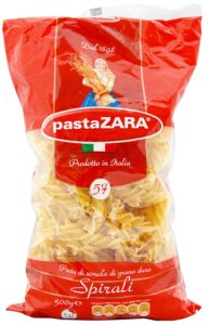 Amazon- Buy Pasta Zara Spirali