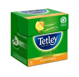 Amazon - Buy Tetley Green Tea, Lemon and Honey, 10 Tea Bags at Rs 25 only