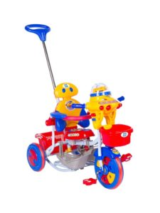 Amazon- Mee Mee 2 in 1 Premium Baby Tricycle with Rocker (Red)