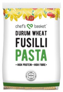 Amazon- Buy Chef's Basket Durum Wheat Fusilli Pasta