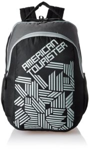 American Tourister 27 Ltrs Black Casual Backpack at Rs 672 only amazon