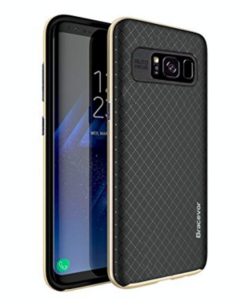 Bracevor Shockproof Carbon Fiber Hybrid Back Case Cover for Samsung Galaxy S8 at rs.99