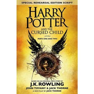Harry Potter and the Cursed Child - Parts I and II (Hardcover, J K Rowling, Jack Thorne, John Tiffany) flipkart 99 steal deal