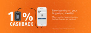 ICICI- Get 10% cashback on first transaction made using Aadhaar Pay