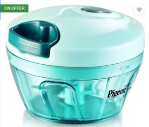 Pigeon Handy Chopper (Green) at Rs.199 only