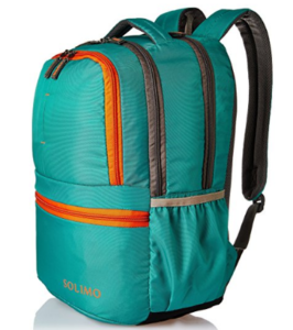 Solimo 25 Ltrs Green Casual Backpack at rs.599
