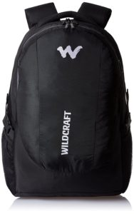 Wildcraft Nylon 40 Ltrs Black Laptop Bag for Rs 1759 amazon