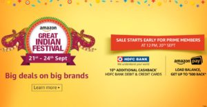 amazon great indian festival sale september 21 to 24 best deals and offers