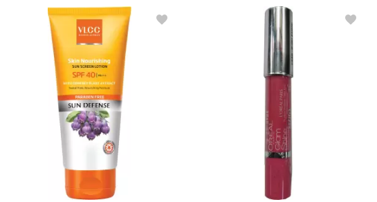 beauty products flipkart at up to 70% off