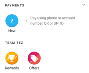 google tez app send money and get Rs 51 for free