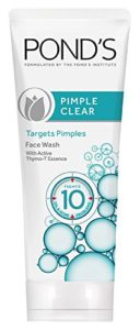 Amazon - Buy POND'S Pimple Clear Face Wash, 100 g at Rs 69 only