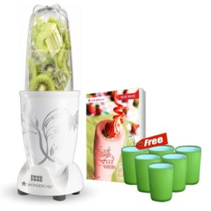 Amazon - Buy Wonderchef 400 Watt Nutri-Blend, White(Freebies may vary) at Rs 1999 only