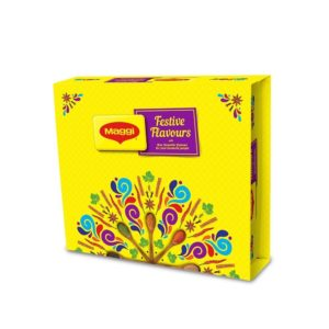 Amazon Crazy Deal - Buy Maggi Festive Flavors Gift Pack, 857g with Greeting Card for Rs 120 only